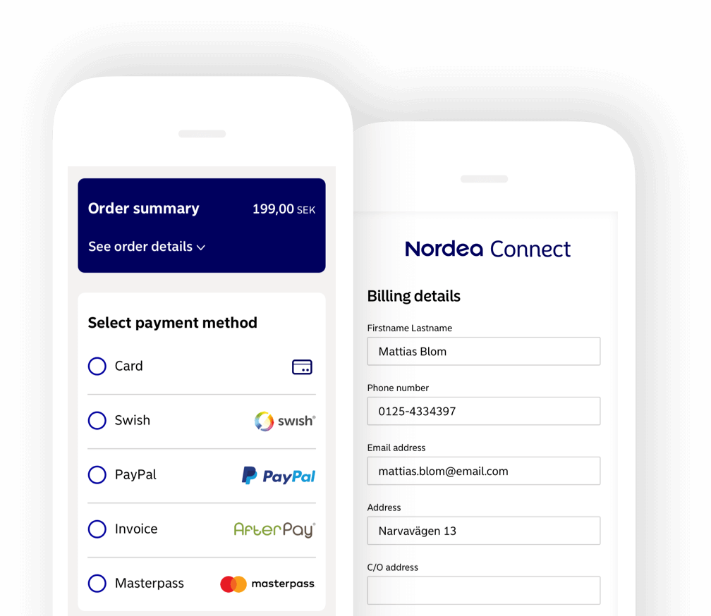 Nordea Connect integration