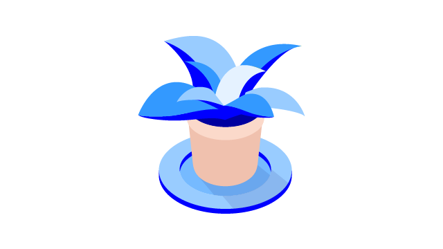 Potted plant icon - 640x360