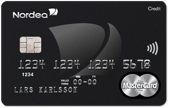 Nordea Black credit card